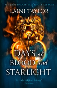 Image result for days of blood and starlight book cover