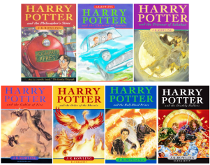 Image result for harry potter uk books